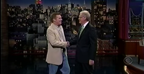 Brian Regan on Letterman show - June 2007